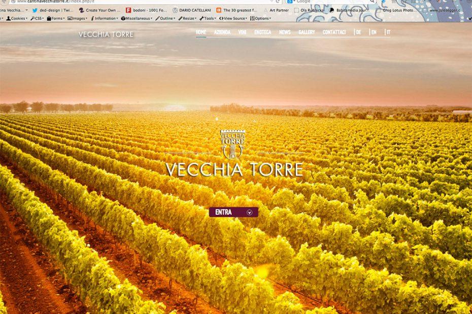 sito web cantinavecchiatorre