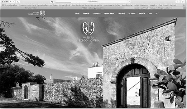 siti web - BorgoMortella.it